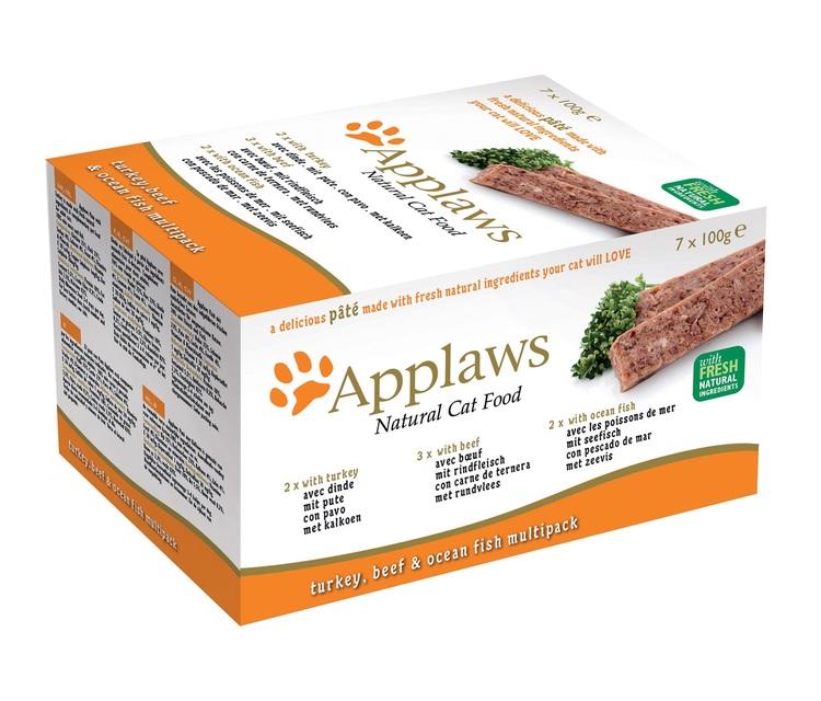 * Applaws Paté Fresh Selection Multimix, 28 x 100 gr. *