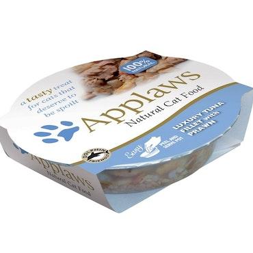* Applaws Easy Peel Pot, Tuna Fillet with Prawn, 10 x 60 gr. *
