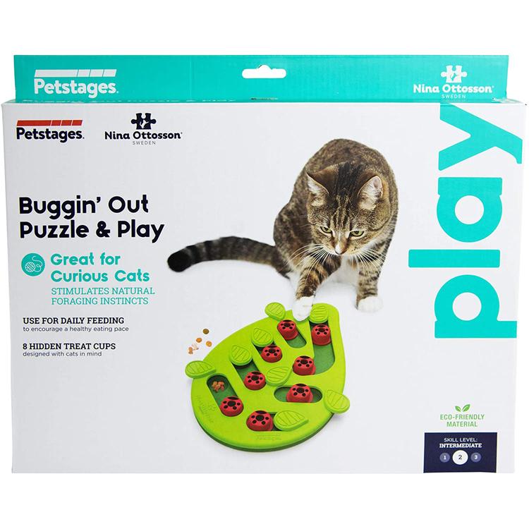 * Buggin' Out Puzzle & Play, Nina Ottosson aktiveringsleksak *
