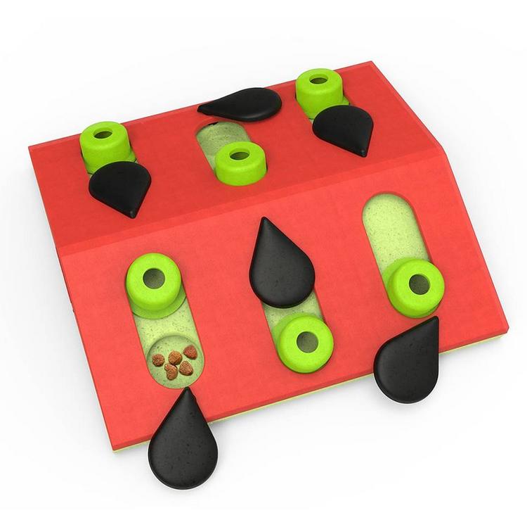 * Melon Madness Puzzle & Play, Nina Ottosson aktiveringsleksak *