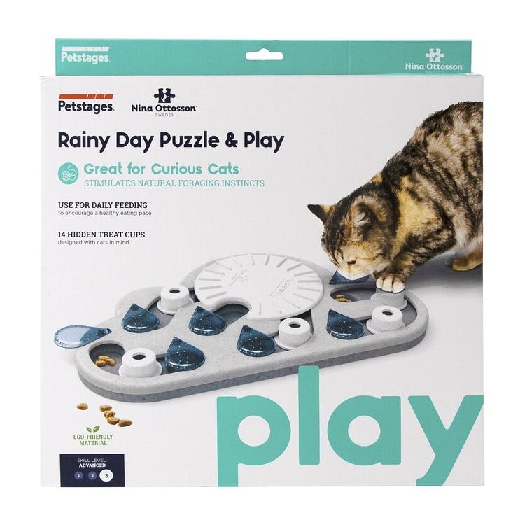 Rainy Day Puzzle & Play, Nina Ottosson aktiveringsleksak av ekovänlig material