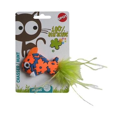 * Tygfisk med catnip Spot *