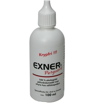 Exner Petguard Krypfri, öronflaska