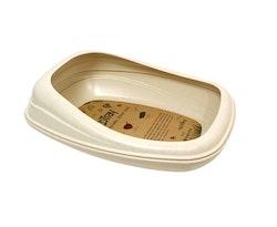 Beco Tray toalåda, beige/beige