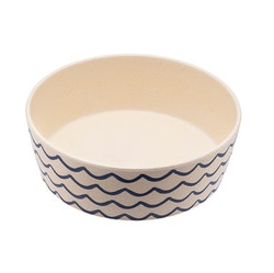Beco Classic Bamboo Bowl, Ocean Waves