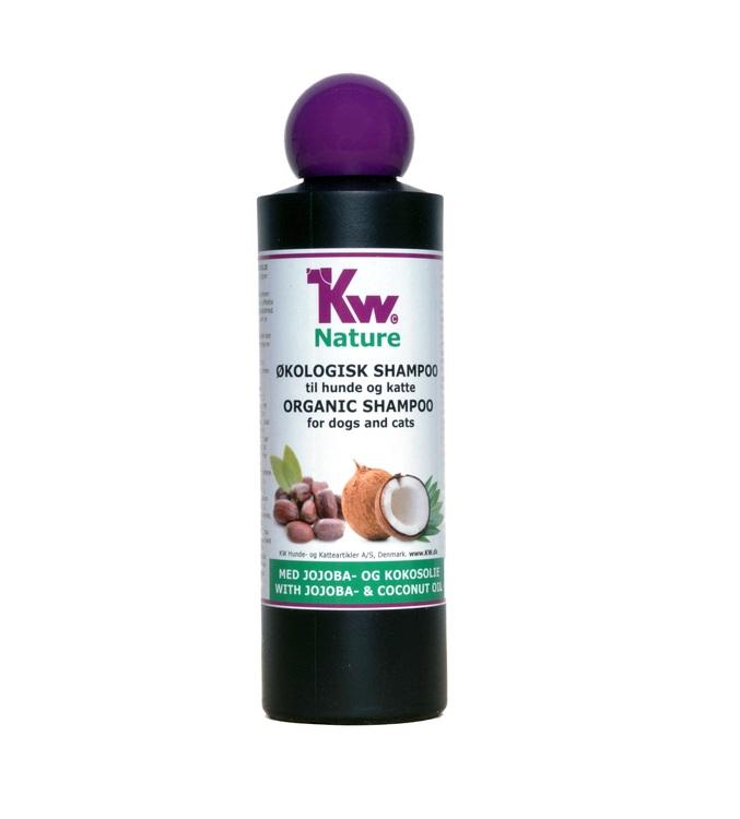 KW Nature schampo, Jojoba- & kokosnötsolja, 200 ml.