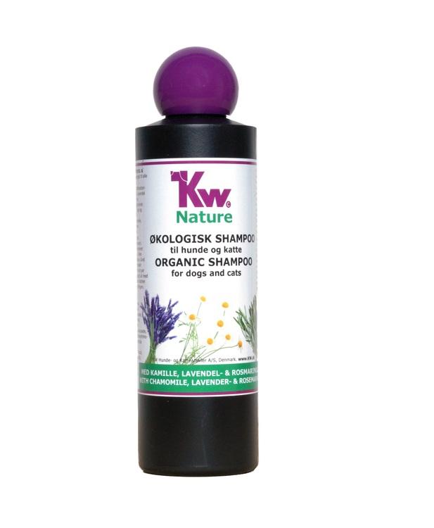 KW Nature, Kamomill, lavendel & rosmarin schampo, 200 ml.