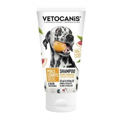 Vetocanis Short-Haired Dogs, schampo, med grapefrukt, 300 ml.