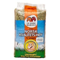 To Gode Naboer,  kvalitetshö med örter, 500 gr.