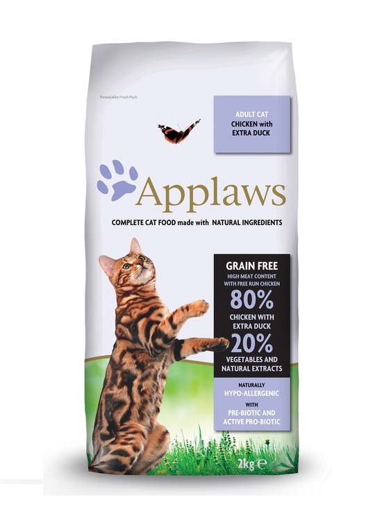 Applaws Adult, Chicken & Duck, 2 kg.