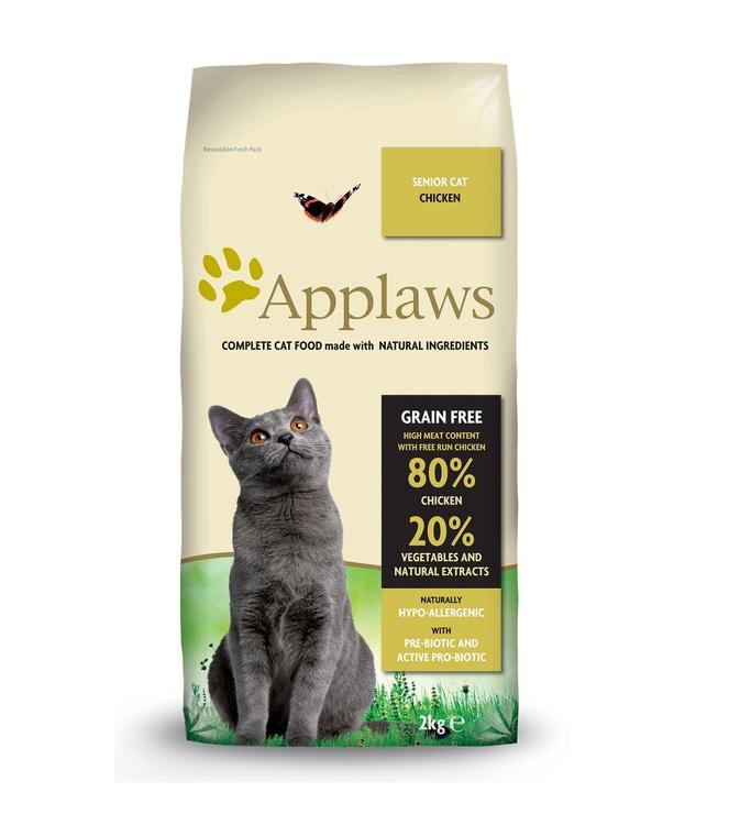 Applaws Senior Cat, Chicken, 2 kg.