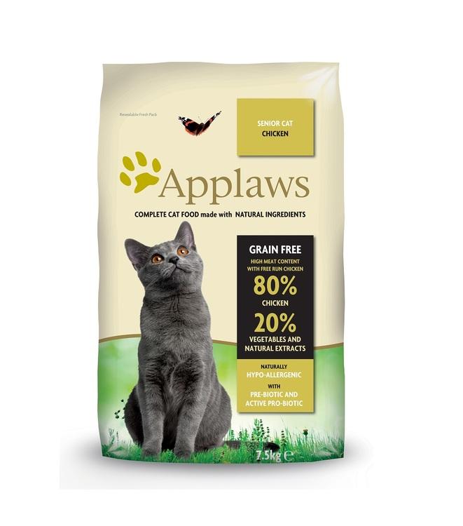 Applaws Senior Cat, Chicken, 7,5 kg.