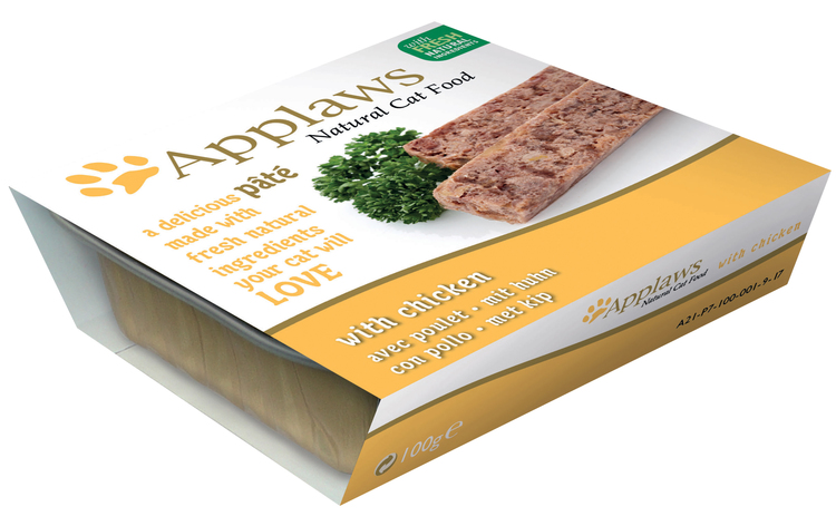 Applaws Paté Country Selection Multimix, 28 x 100 gr.