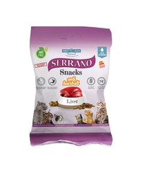 Serrano Snacks, Anti Hairball, Liver, 50 gr.
