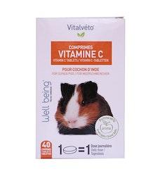 Vitamin C tabletter, 40 tabl.