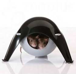 Råtthus Sputnik, plast