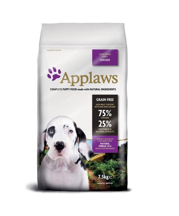 Applaws Puppy Chicken, Large Breeds, 7,5 kg.