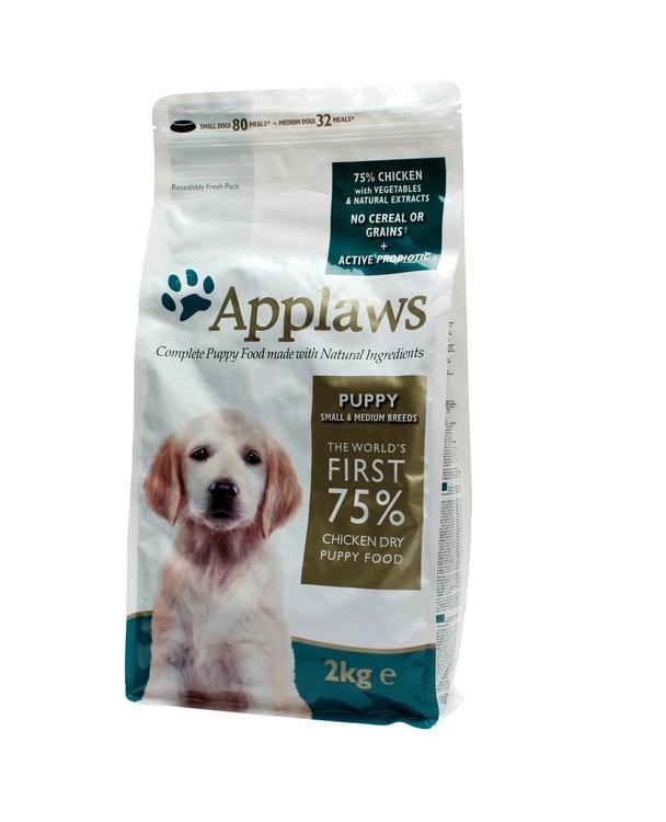 Applaws Puppy Chicken, Small & Medium Breeds, 2 kg.