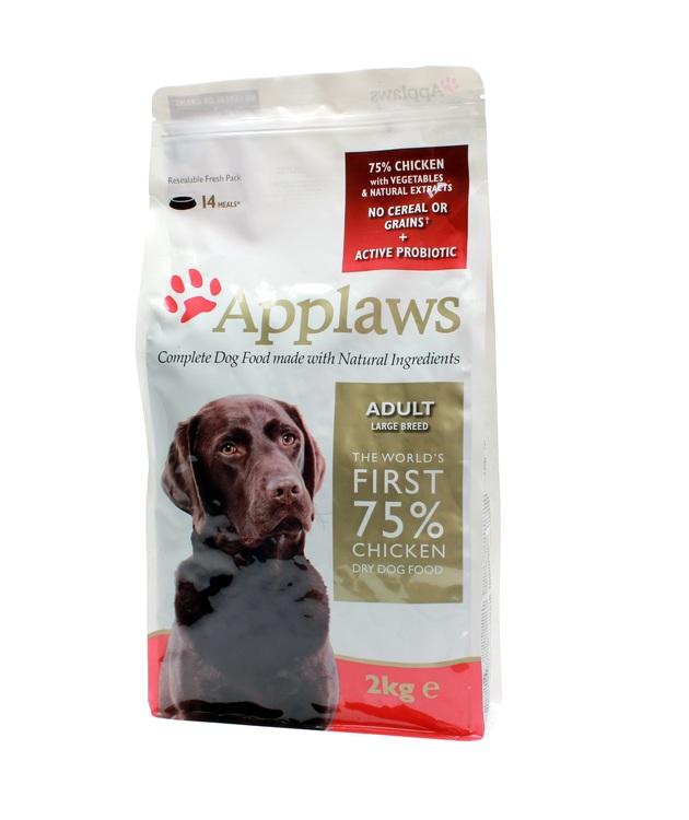 Applaws Adult, Chicken, Large Breeds, 2 kg.