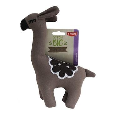 Lama, ekologiskt bomullstyg, GOTS-certifierad