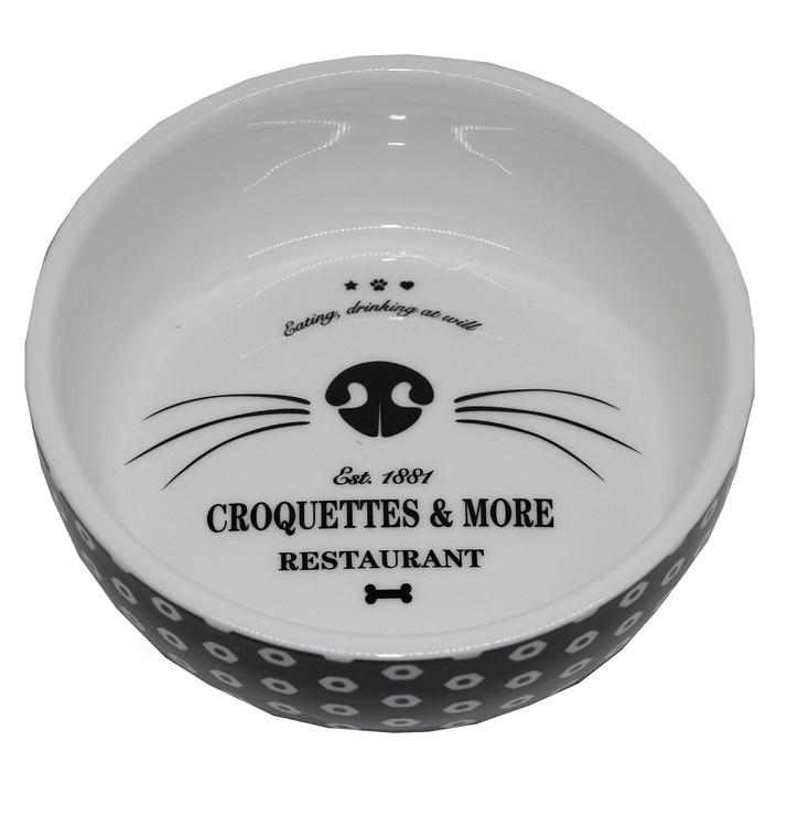 Keramikskål Katt Croquette