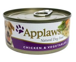 Applaws konserv Chicken & Vegetables, 12 x 156 gr.