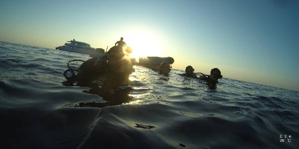 Återuppta dykningen