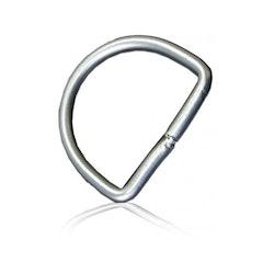 DiveSystem 50mm D-ring i rostfritt stål
