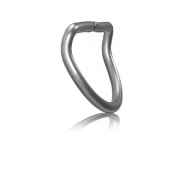 DiveSystem 50 mm stainless steel D-ring, 45 ° curved