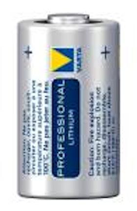 Batteri CR 123A, 3,0V Lithium