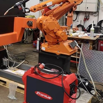 Fronius TPSi 400 CMT till robot ABB IRB1400