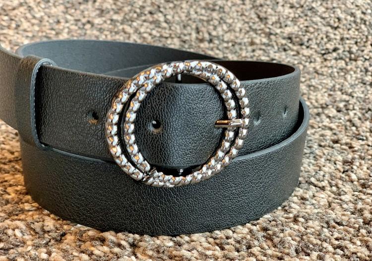 NOT Skärp - Duo Diamond Rings Black Silver