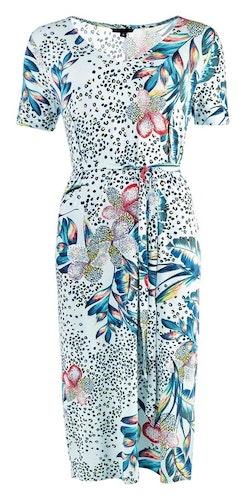 NOT Klänning - Debby SS Blue Floral