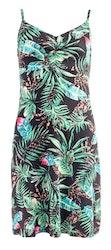 NOT klänning - NORI SL black tiger flora