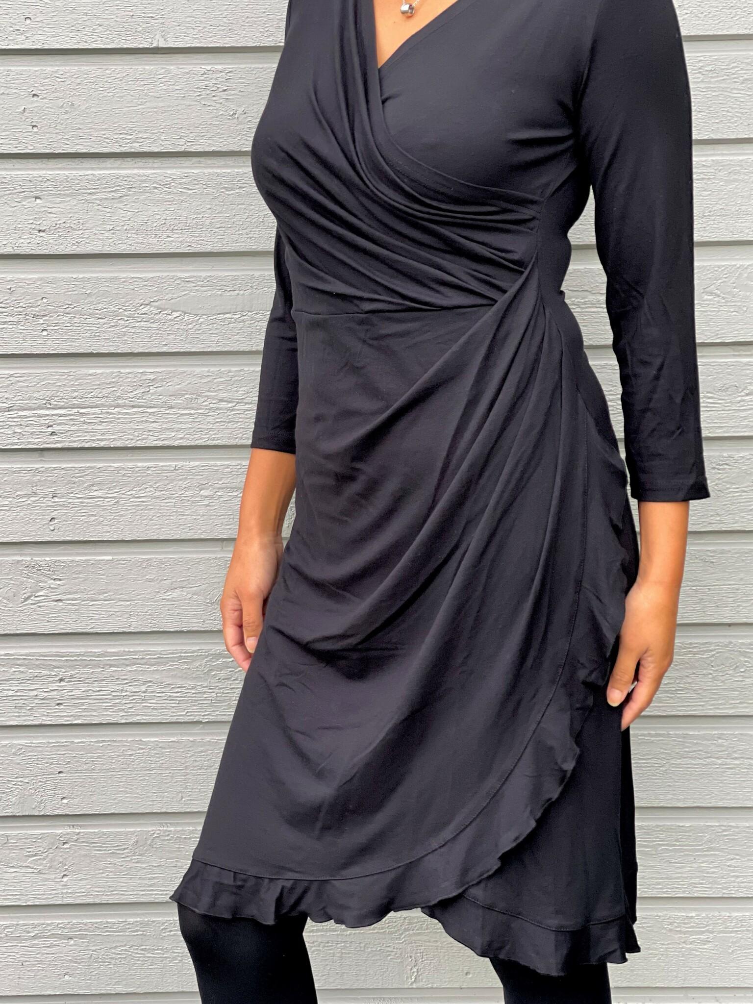 NOT Omlottklänning - Jente 3/4 Black