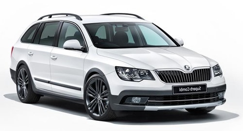 Skoda Superb Farmari