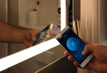 Badrumsspegel - Exclusive Line, 1200 x 900 mm - Bluetooth