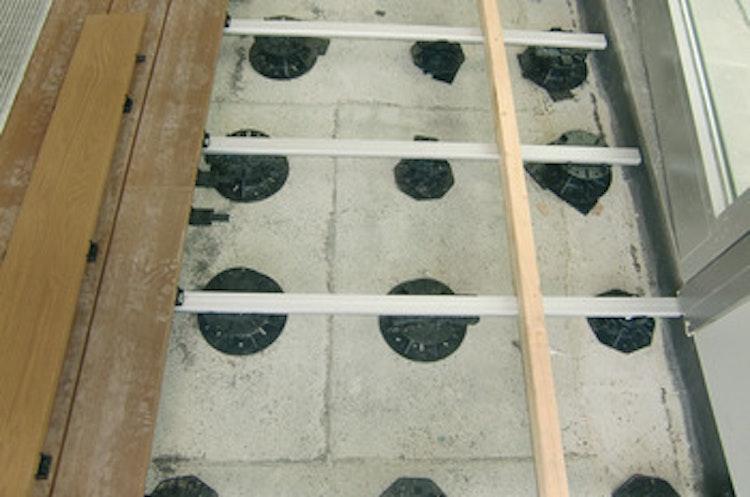 Ställfot för träkonstruktioner, 35 - 70 mm - paket om 36 st