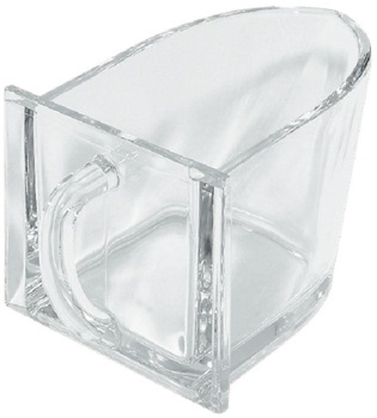Behållare för mjöl, glas