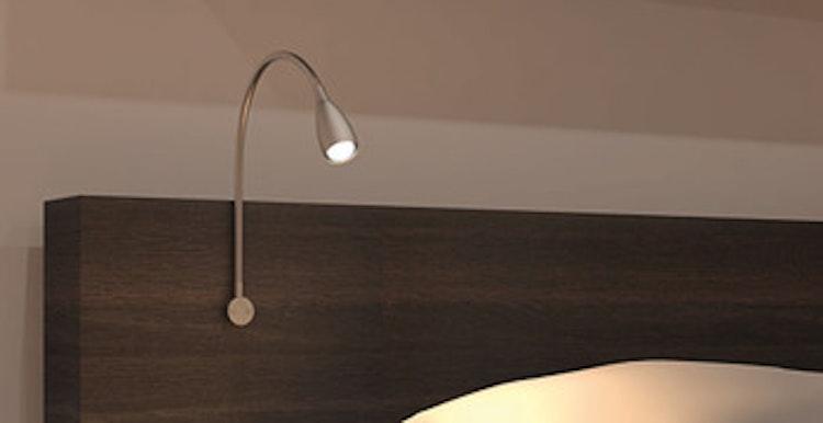 Flexibel lampa - väggmontage