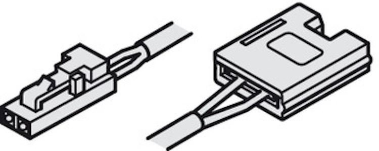 Extra anslutningsledning för LED-stripe
