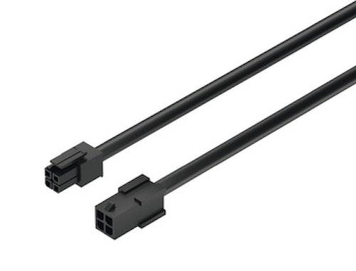 Förlängningskabel till strömbrytare/dimmer, 2 meter