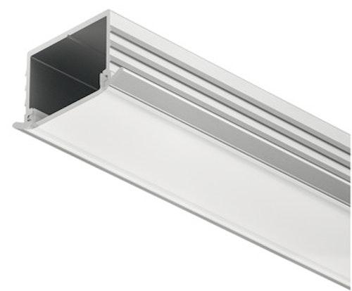 Aluminiumprofil för LED-stripe - infälld montering