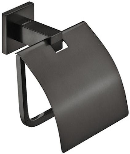 Toalettpappers-hållare, svart