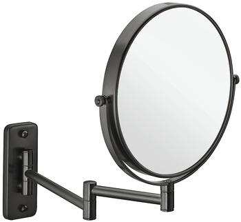 Sminkspegel, 3 ggr förstoring, svart