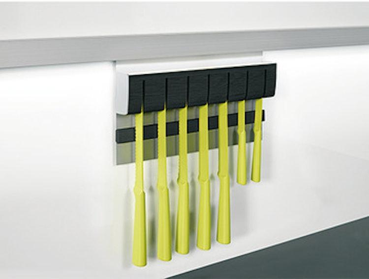Knivmagnet till utbyggbart förvaringssystem