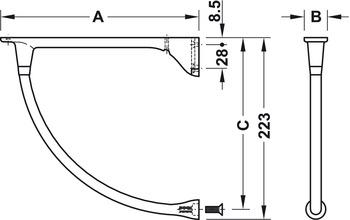 Hyllbärare/konsol