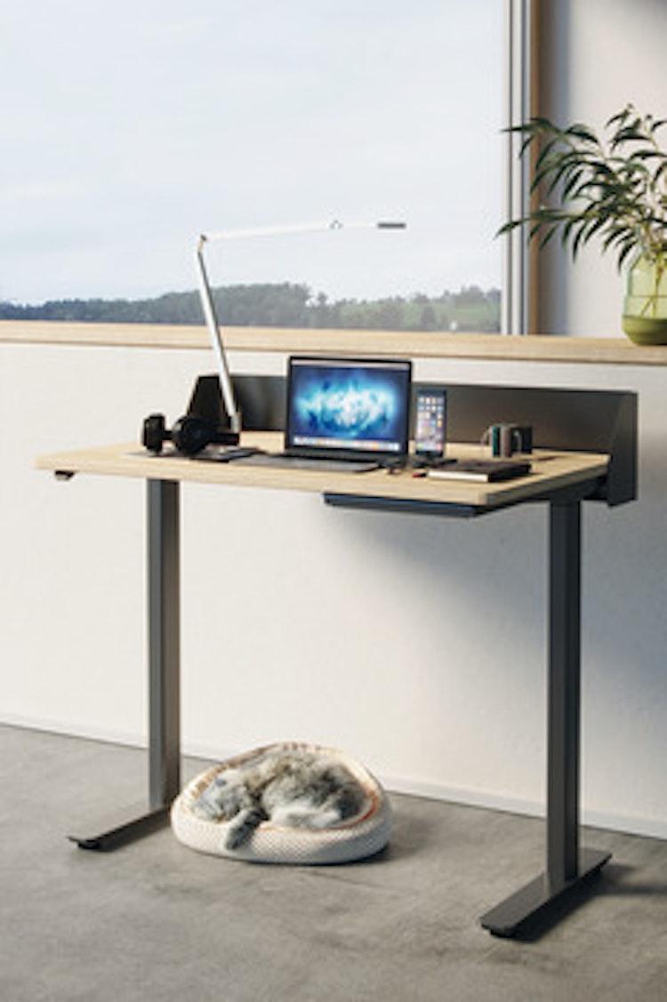 Smidigt skrivbord 900 alt. 1200 mm - V.v skicka mail för mer info och prisuppgift