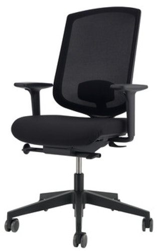 Kontorsstol - O4001, svart