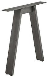 Bordsben - Design A, raw steel eller svart